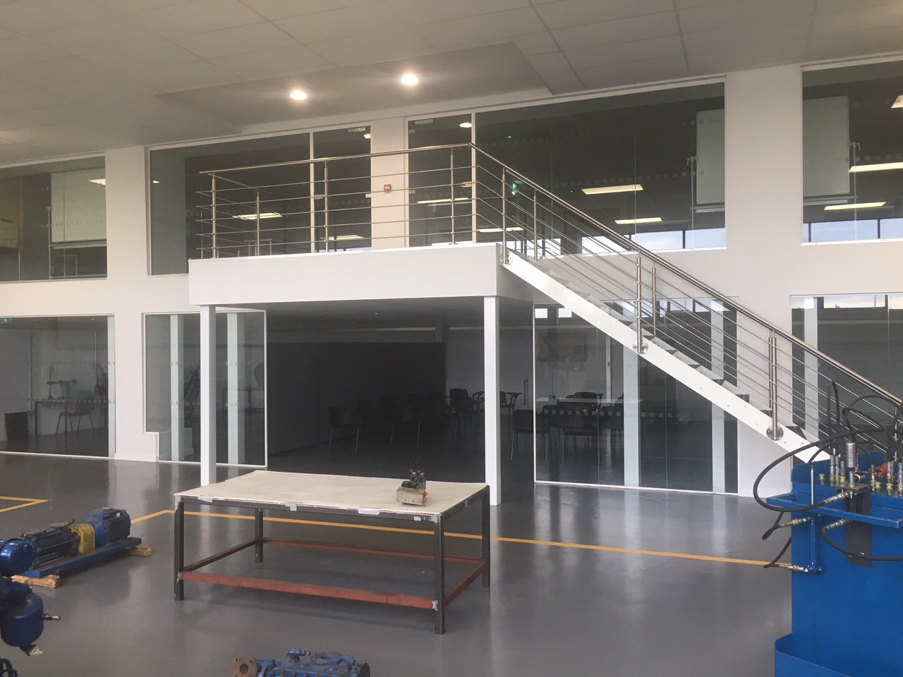 Engineering A Mezzanine Floor In Liverpool Nsi Projects